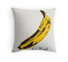The Velvet Underground & Nico Throw Pillow