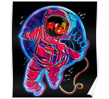 Trippy Astronaut - Poster - Hippie - Dreamy - Tumblr Poster