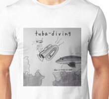 "PUN COMIC - ""TUBA DIVING"" Unisex T-Shirt"