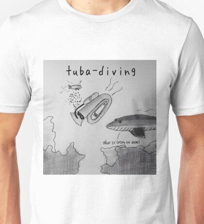 """PUN COMIC - """"TUBA DIVING"""" Unisex T-Shirt"""