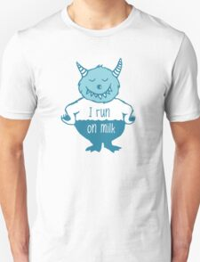 I run on milk Unisex T-Shirt