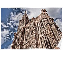 cathedrale strasbourg Poster