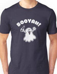 Halloween Ghost Booyah Unisex T-Shirt