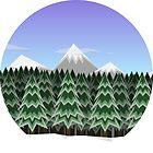 Winter Forrest by AvrgJoe