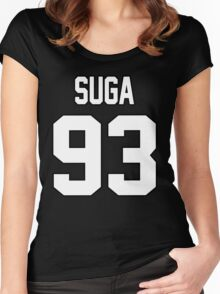SUGA Women's Fitted Scoop T-Shirt