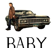Dean's Baby - Impala, Supernatural by millwhy
