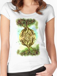 YGGDRASILL - 071 Women's Fitted Scoop T-Shirt