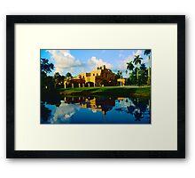 Curtiss Mansion Framed Print