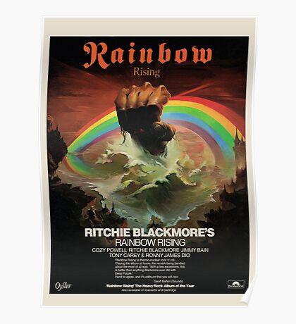 Rainbow Rising Album Launch 1976 Advert Poster Poster
