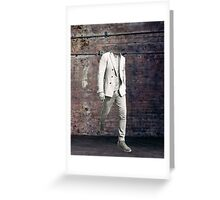Walking Out Greeting Card