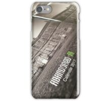Abandoned Ni 2017 A4 Wall Calendar iPhone Case/Skin