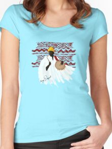 The Talking Drum Women's Fitted Scoop T-Shirt