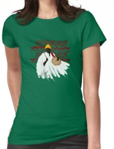 The Talking Drum Womens Fitted T-Shirt