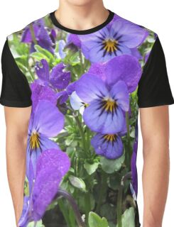 Violet Patch Graphic T-Shirt