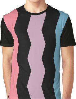 Sharp Waves Graphic T-Shirt