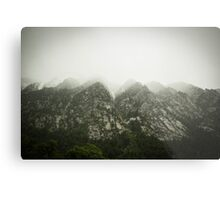 The Tip of the Mountian  Metal Print