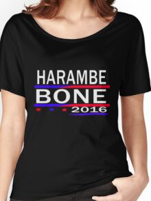 HARAMBE AND KEN BONE 2016 Women's Relaxed Fit T-Shirt