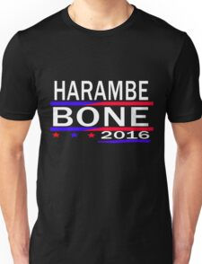 HARAMBE AND KEN BONE 2016 Unisex T-Shirt