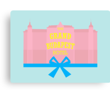 The Grand Budapest Hotel-minimal Canvas Print
