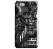 Steampunk Ursula BW iPhone Case/Skin
