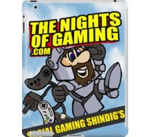 The nights of gaming classic iPad Case/Skin