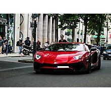 Lamborghini Aventador LP-750 Superveloce Photographic Print