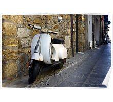 Vespa in Sicily, Italy Poster