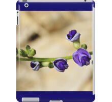 Purple Bloom - African Wild Flowers iPad Case/Skin