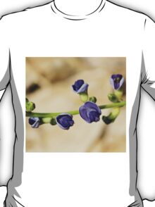 Purple Bloom - African Wild Flowers T-Shirt