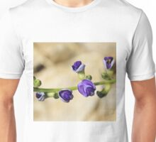 Purple Bloom - African Wild Flowers Unisex T-Shirt