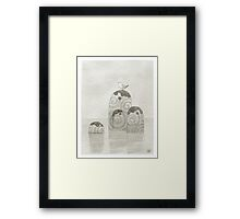 Galway Gull Framed Print