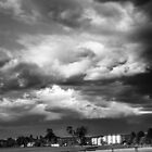 Storm Building 3 B&W by Candice84
