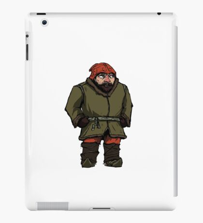 The Pink Nosed Gnome iPad Case/Skin