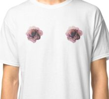 Watercolor Flower Titty Classic T-Shirt