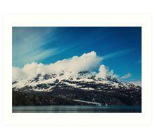 Alaska Mountain Art Print