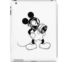 Mickey the GasMask Mouse iPad Case/Skin