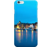 Bergen, Norway panorama iPhone Case/Skin