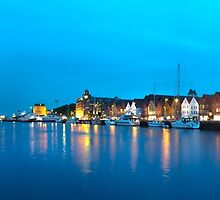 Bergen, Norway panorama by avresa