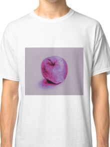 Colorful watercolor of apple Classic T-Shirt