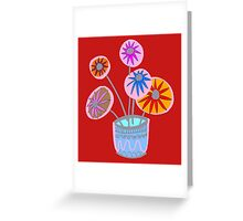 flowers in autmn Greeting Card