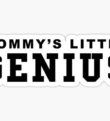 Mommy's little Genius Sticker