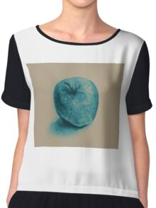 Colorful watercolor of apple Chiffon Top