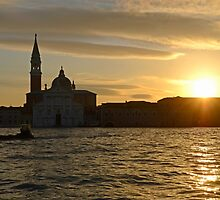 Sunrise in Venice, Italy by avresa