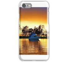 .Marmong Point Waterscape Sunrise. iPhone Case/Skin