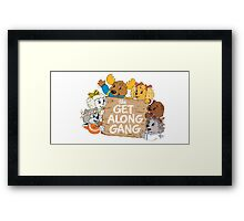the get along gang Framed Print