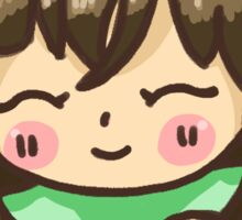 Cuddly Pillow Sticker