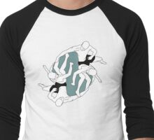 Boys having fun Men's Baseball ¾ T-Shirt
