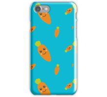 Fresh smiling Carrots  iPhone Case/Skin