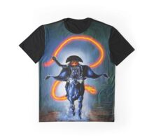 Halloween Rider Graphic T-Shirt