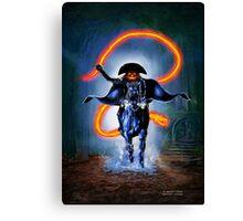 Halloween Rider Canvas Print